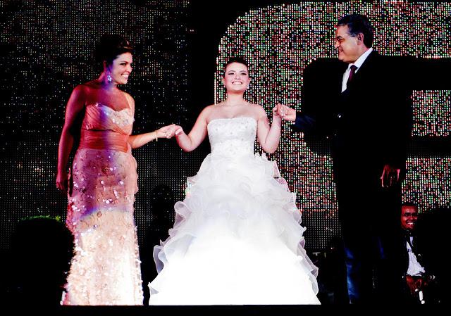 Maysa e Aristarco realizados com sua Gabriela