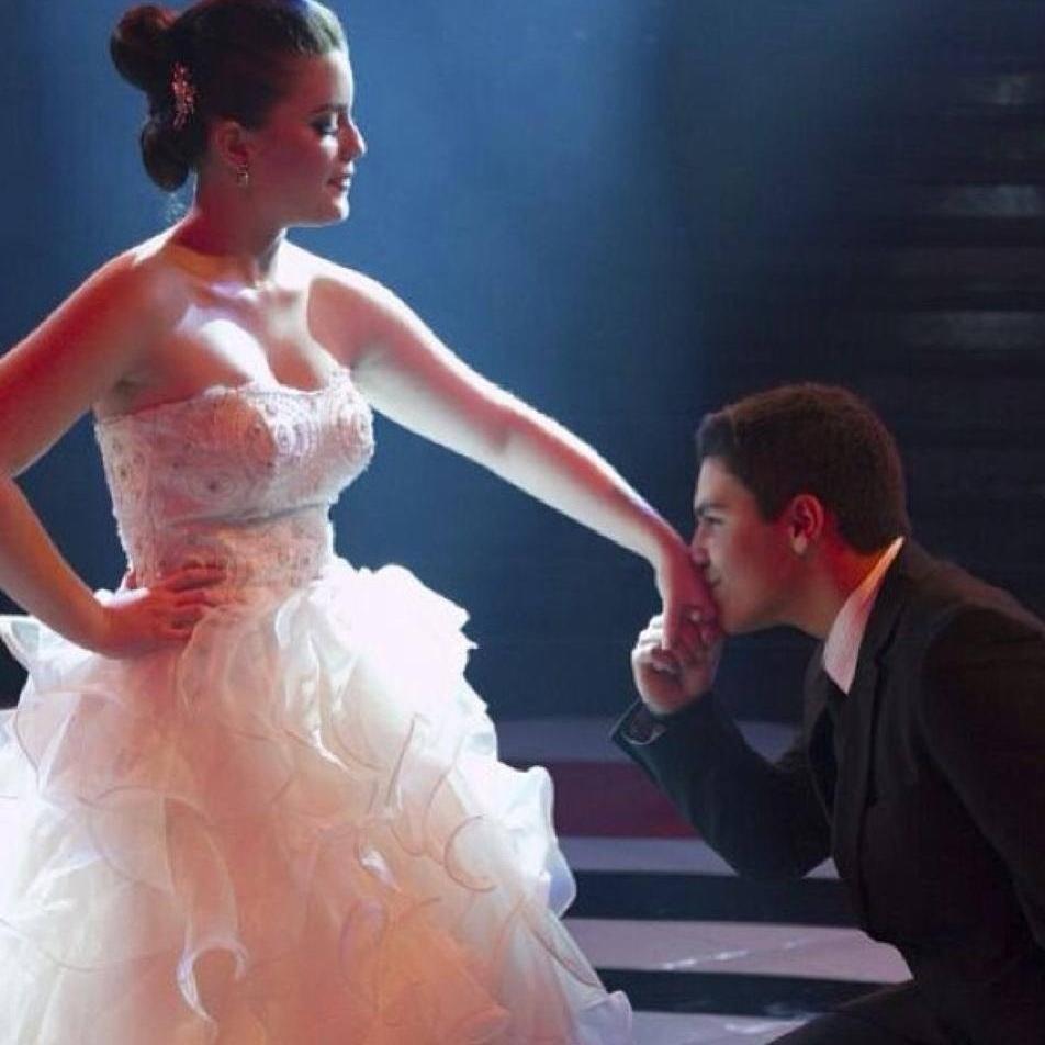 Gabriela e o namorado Bernardo